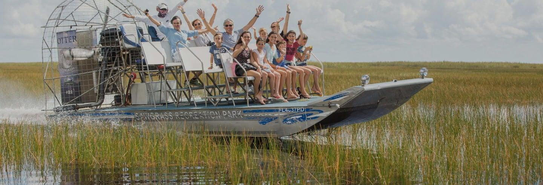 Giro privato delle Everglades in hovercraft