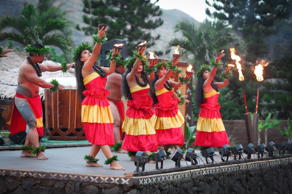 Fire will be one of the main elements at the luau!