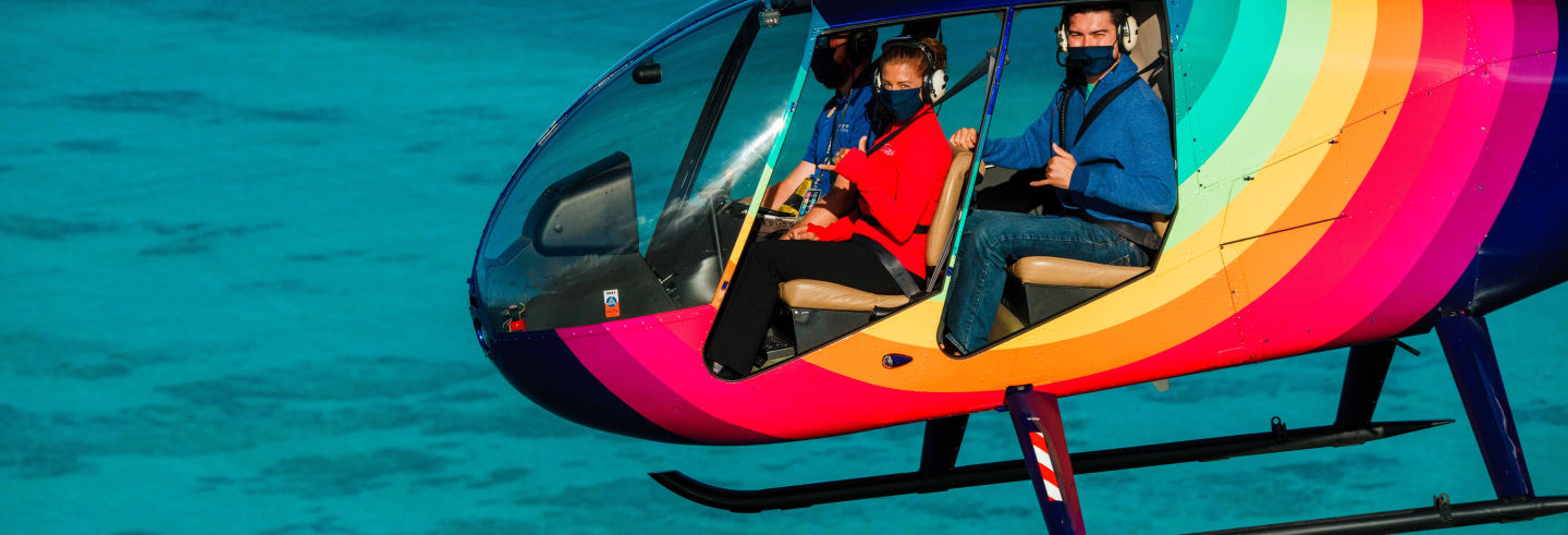 Paseo en helicóptero por Oahu