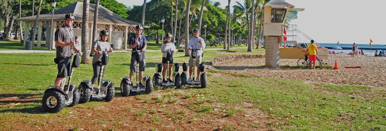 Visite de Waikiki en segway