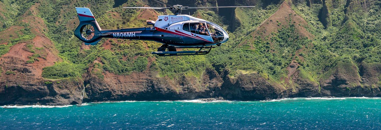 Giro in elicottero a Kauai