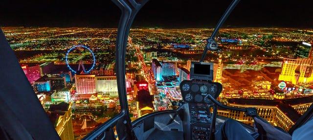 Passeio de helicóptero por Las Vegas