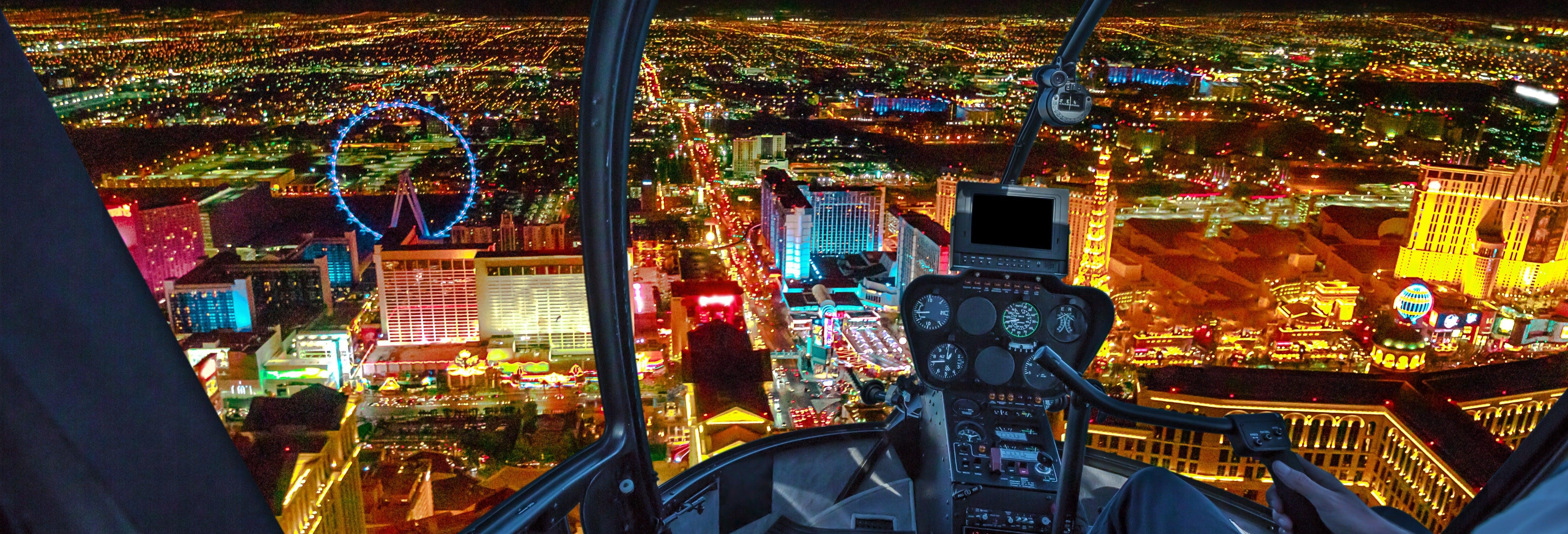 Giro in elicottero su Las Vegas