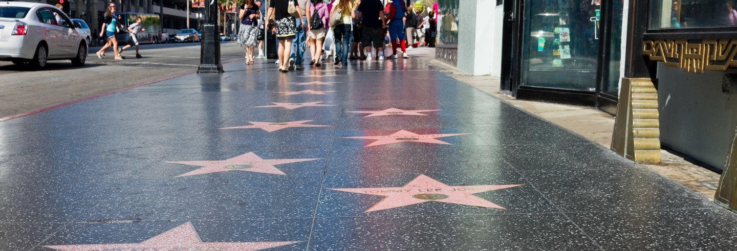 Visite guidée à travers Hollywood Boulevard