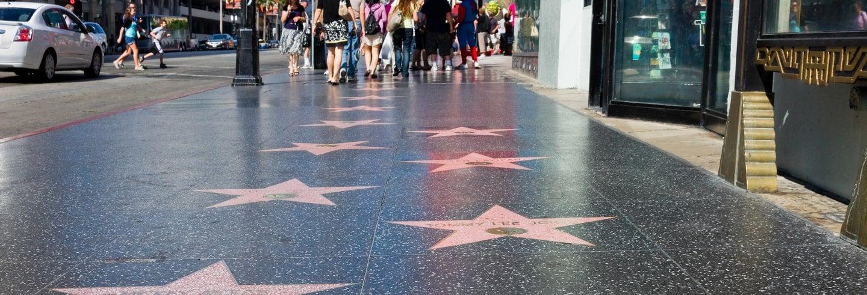 Visite guidée à travers Hollywood Boulevard
