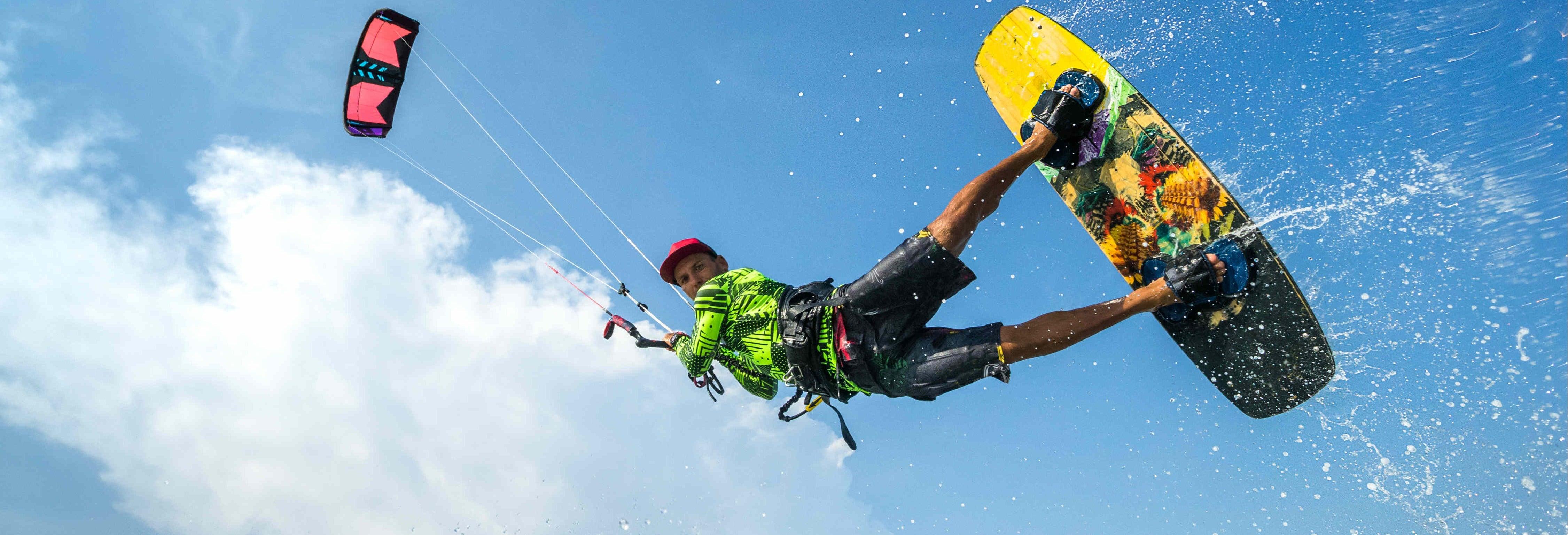 Curso de kitesurf en Miami