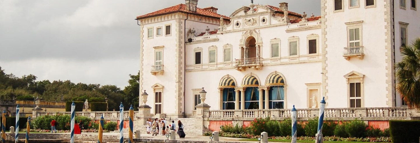 Ticket to Villa Vizcaya and Gardens