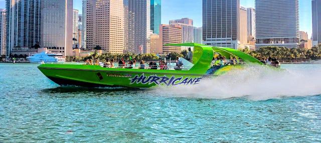 Expérience Jet Boat à Miami