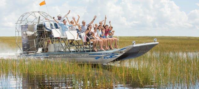 Passeio privado de airboat pelos Everglades