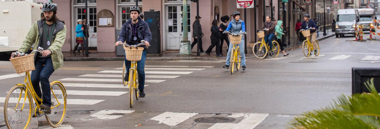 Tour en bicicleta por Nueva Orleans