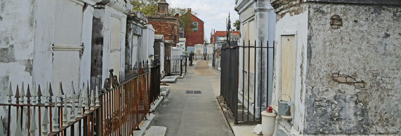 Visita guiada pelo cemitério de St. Louis