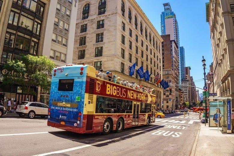 Autobús turístico de Nueva York