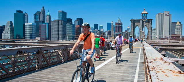 Tour privado por Nueva York en bicicleta