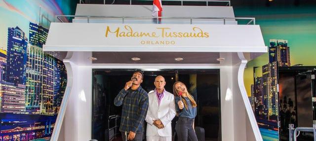 Entrada al Madame Tussauds