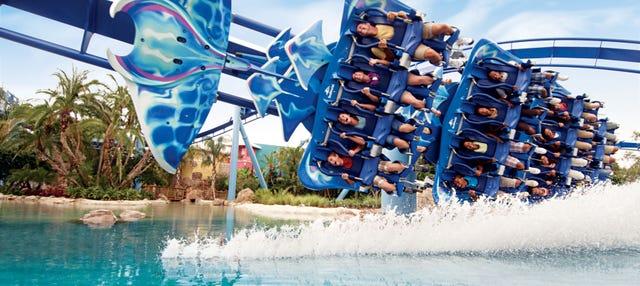 Entrada a SeaWorld Orlando