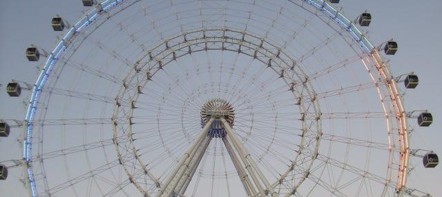 Entrada a The Wheel en ICON Park
