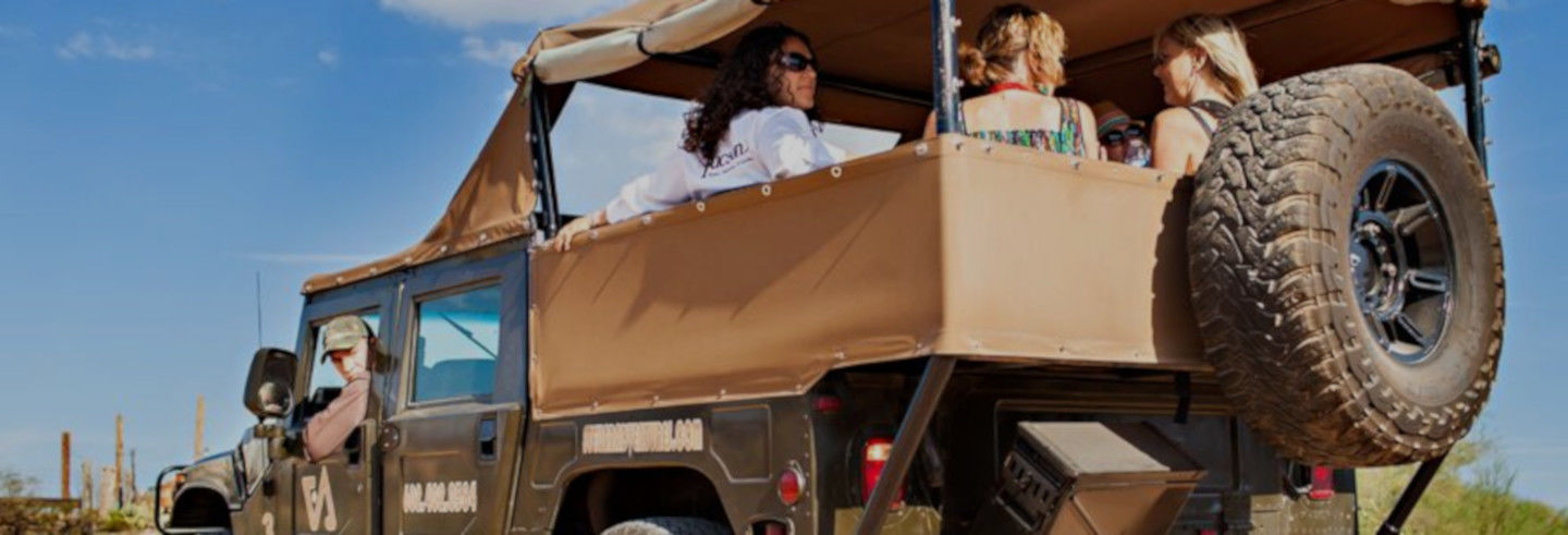 Hummer Tour in the Sonoran Desert