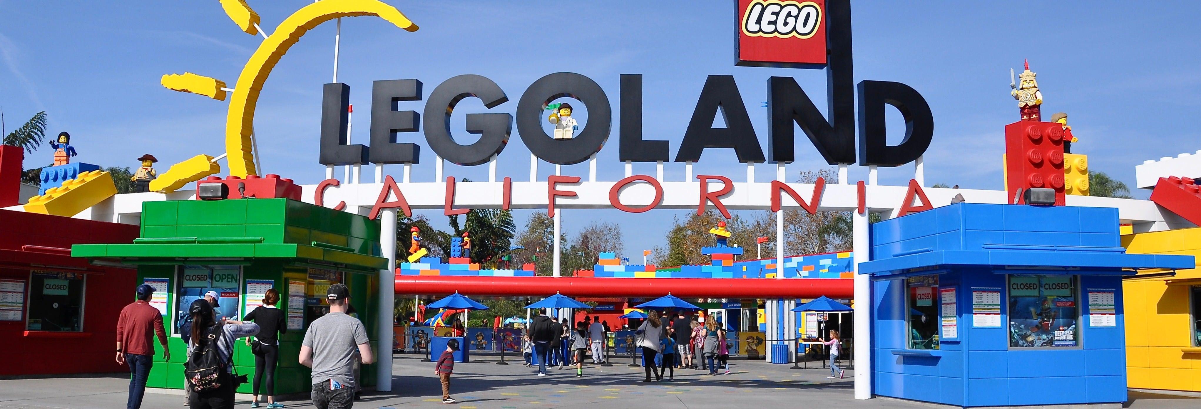 Entrada a LEGOLAND California