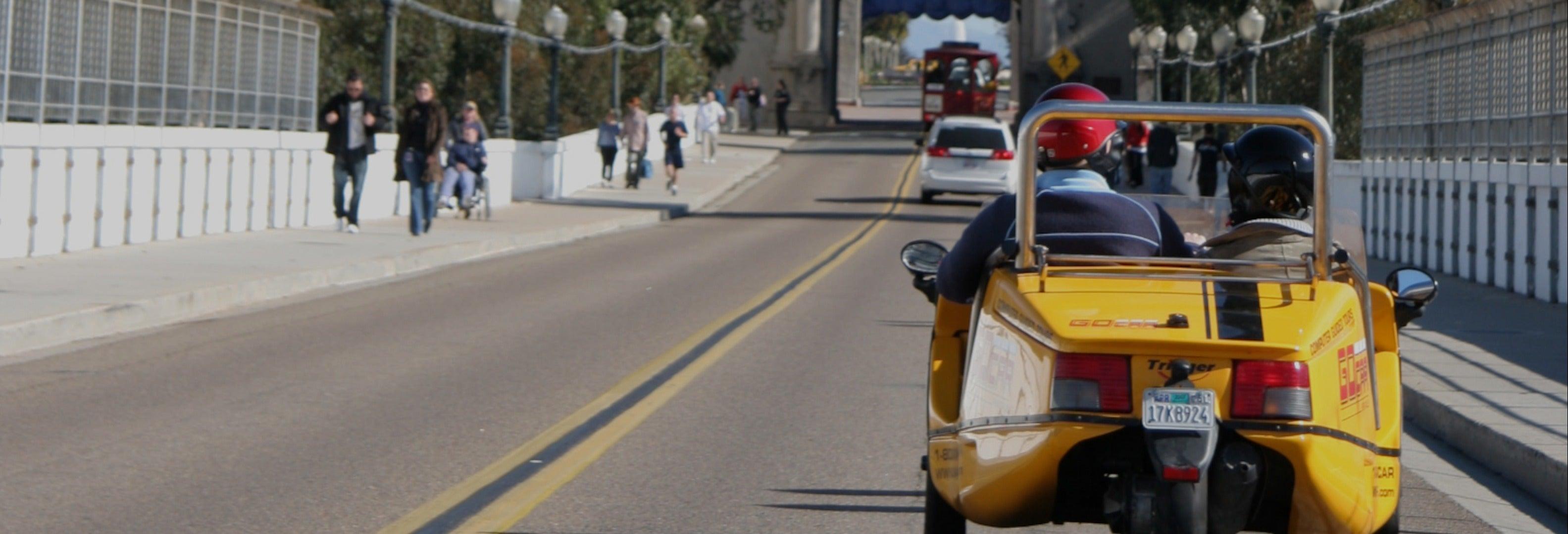 Tour en coche eléctrico por San Diego