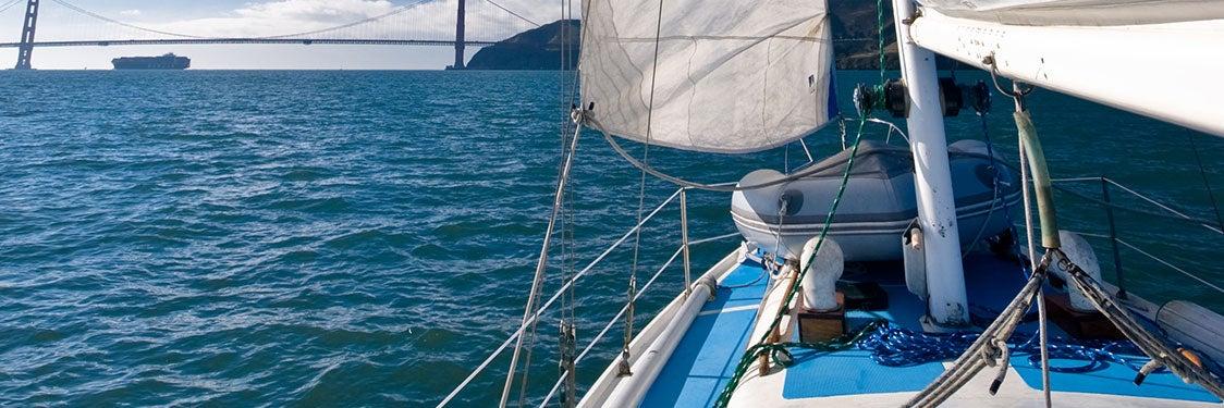 Balade en bateau à San Francisco