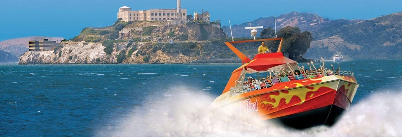 Balade en bateau à grande vitesse RocketBoat