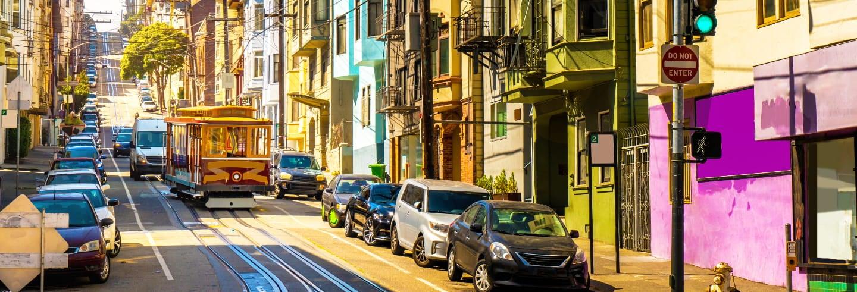 Visite des quartiers historiques dans San Francisco