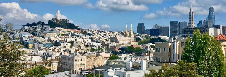Visite des points de vue et des collines de San Francisco