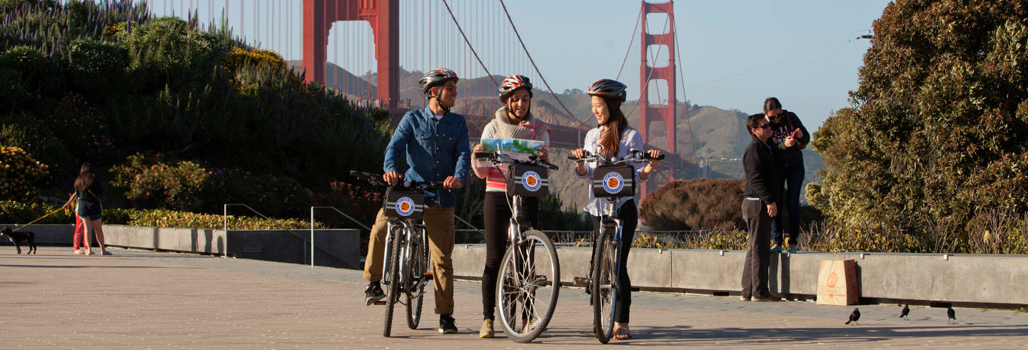 Tour privado por San Francisco en bicicleta