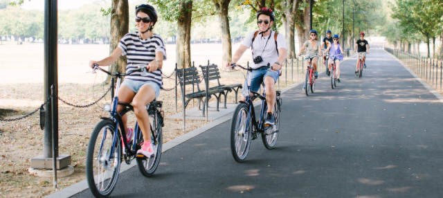 Tour en bicicleta por Washington