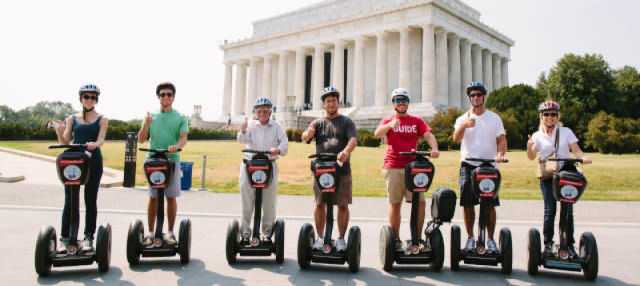 Tour en segway por Washington DC