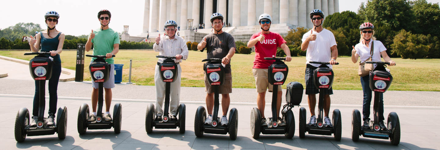 Tour di Washington DC in segway