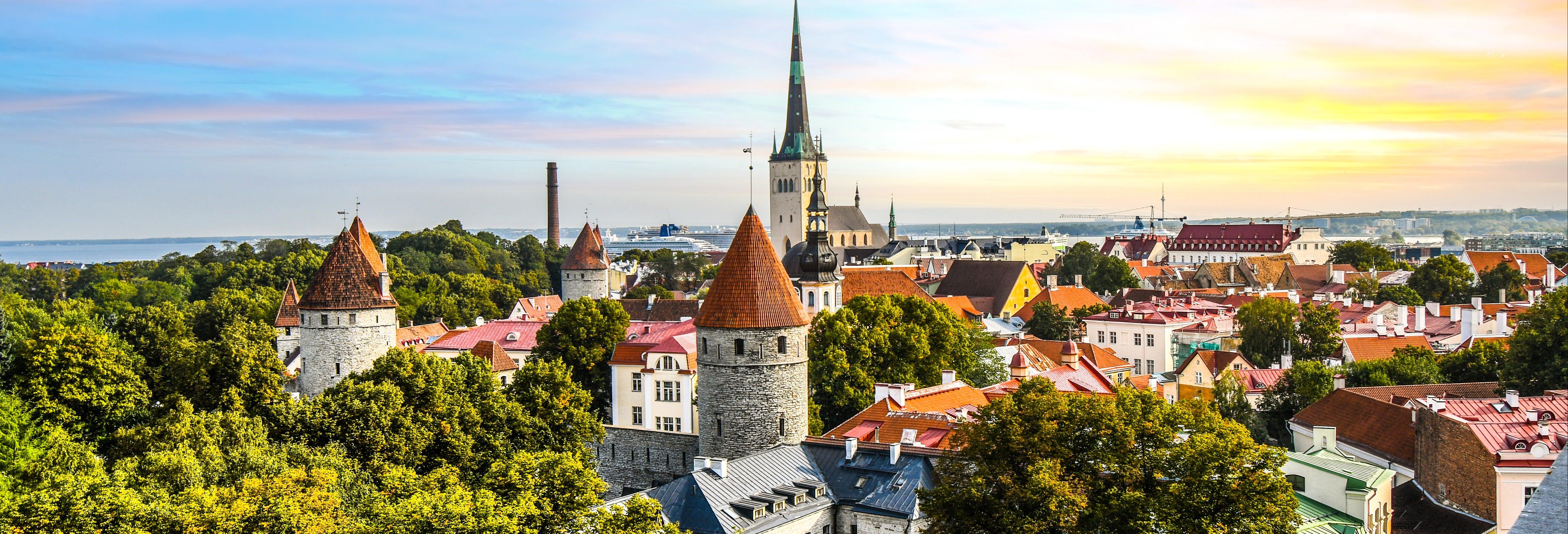 Tour privado por Tallinn com guia em português