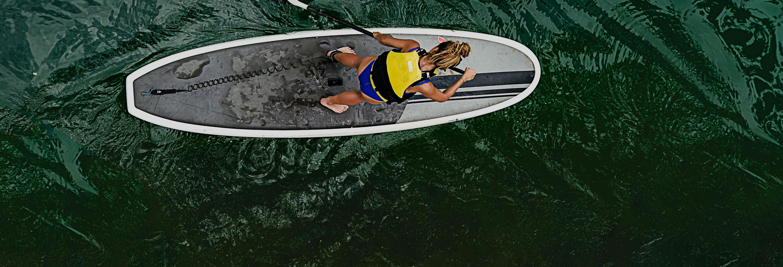 Paddle surf en el río Loboc