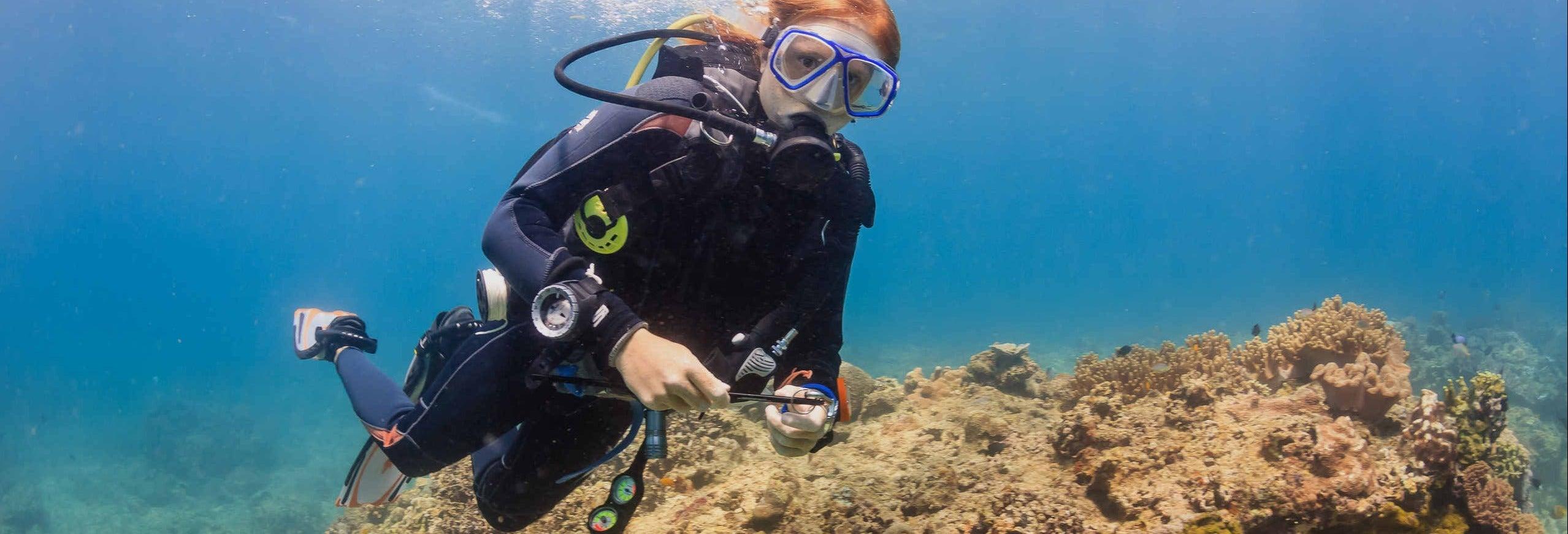 Bautismo de buceo en Boracay
