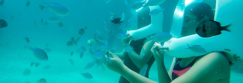 Seawalker en Boracay