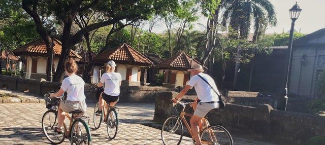 Tour en bicicleta de bambú por Intramuros