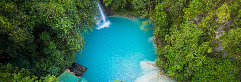 Escursione alle cascate di Kawasan, Aguinid e Malabuyoc