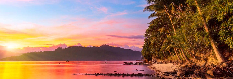 Tour por Twin y Wide Reef y las islas Exotic y German