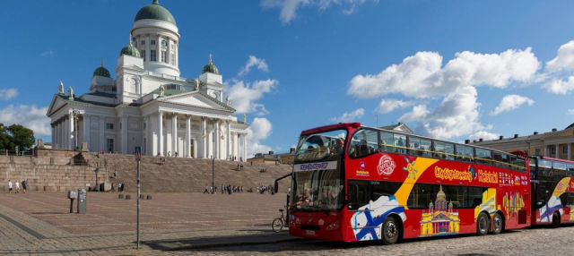 Bus Tour of Helsinki