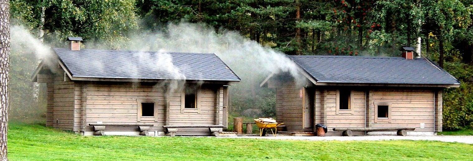 Sauna de humo finlandesa