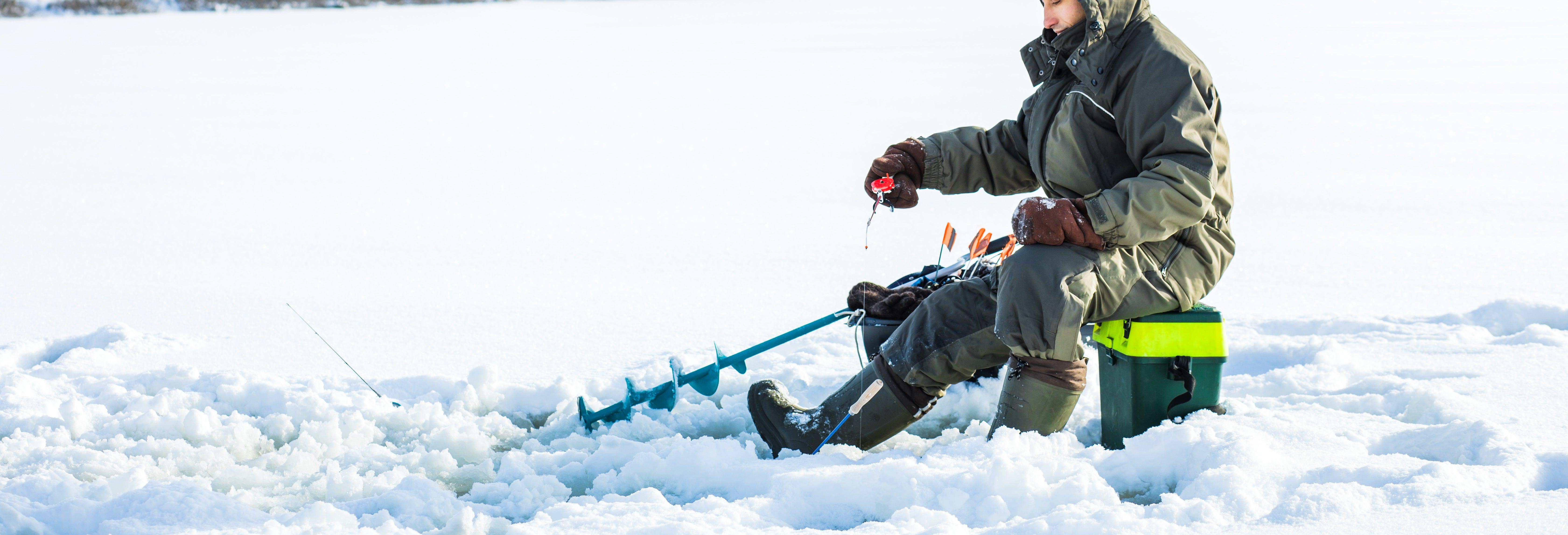 Pesca sul ghiaccio a Kittilä