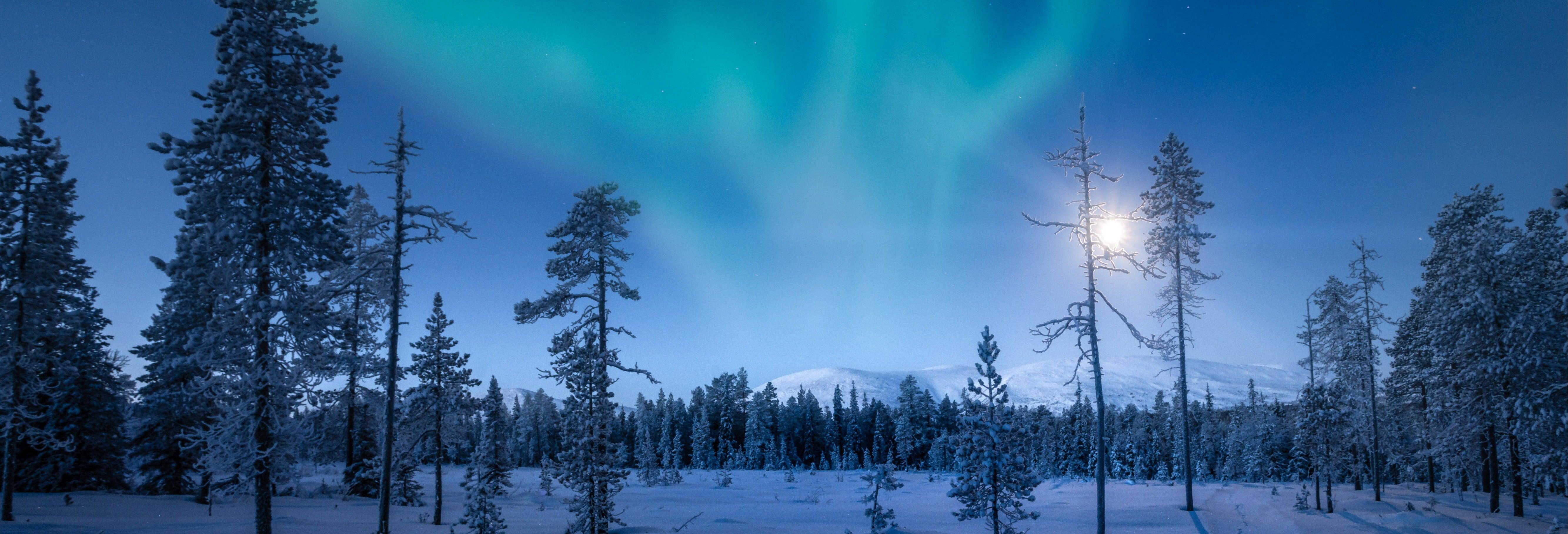 Tour de la aurora boreal por Pallas-Yllästunturi