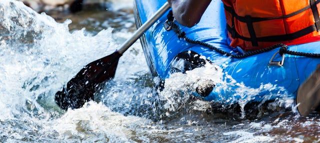 Rafting en el río Kuusaankoski