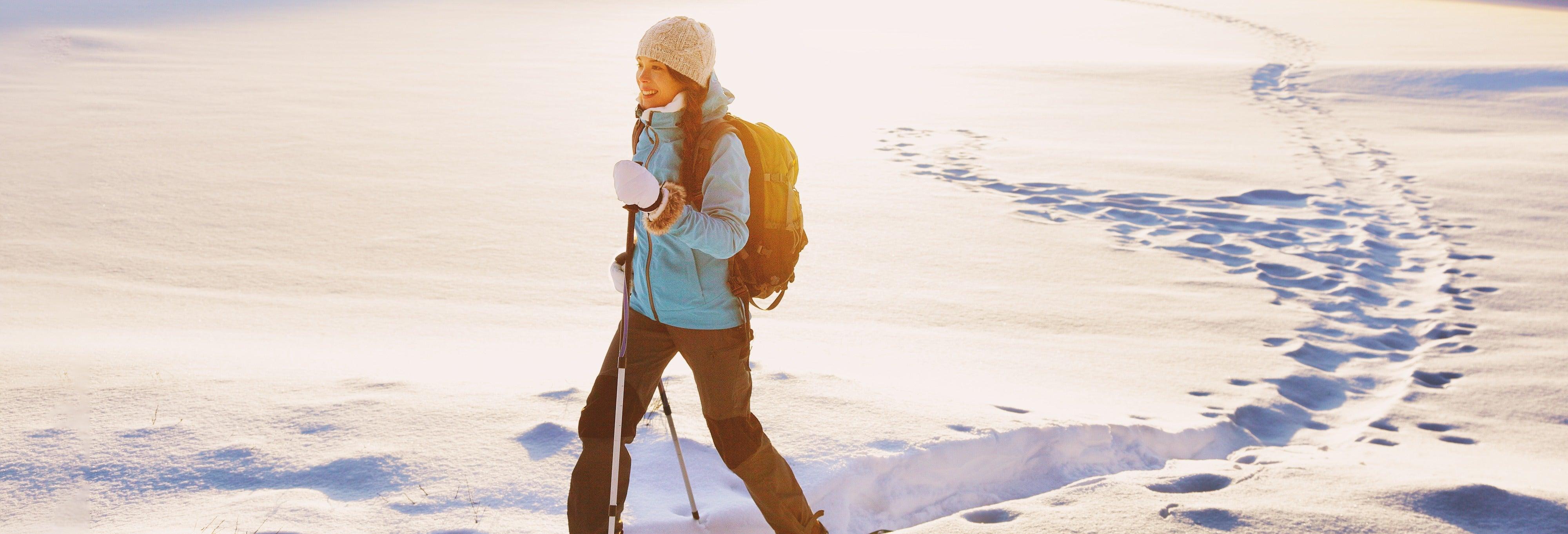 Passeggiata con le racchette da neve a Levi