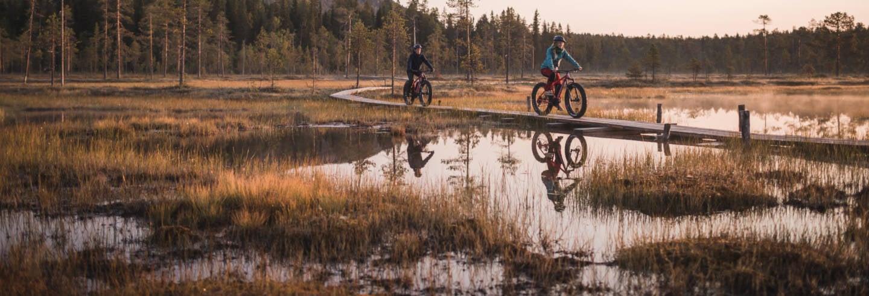 Tour del Parco nazionale di Pyhä-Luosto in bici elettrica