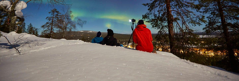 Excursion photo des aurores boréales