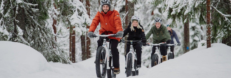 Tour del Parco nazionale di Pyhä-Luosto in bicicletta