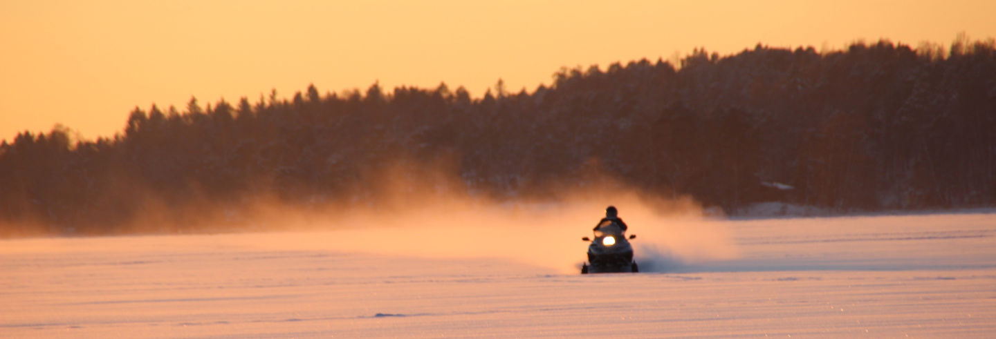 Snowmobile Ride & Ice Fishing