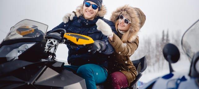 Tour en quad por el Círculo Polar Ártico
