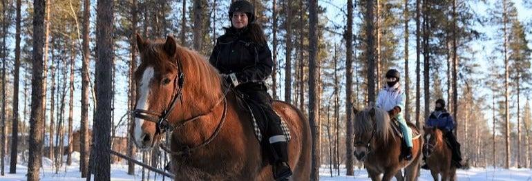 Paseo a caballo por Sirkka